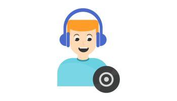 DJ man Icon