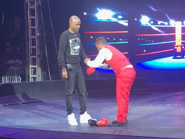 Dre Johnson at Universoul Circus