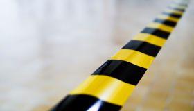 Close-Up Of Cordon Tape