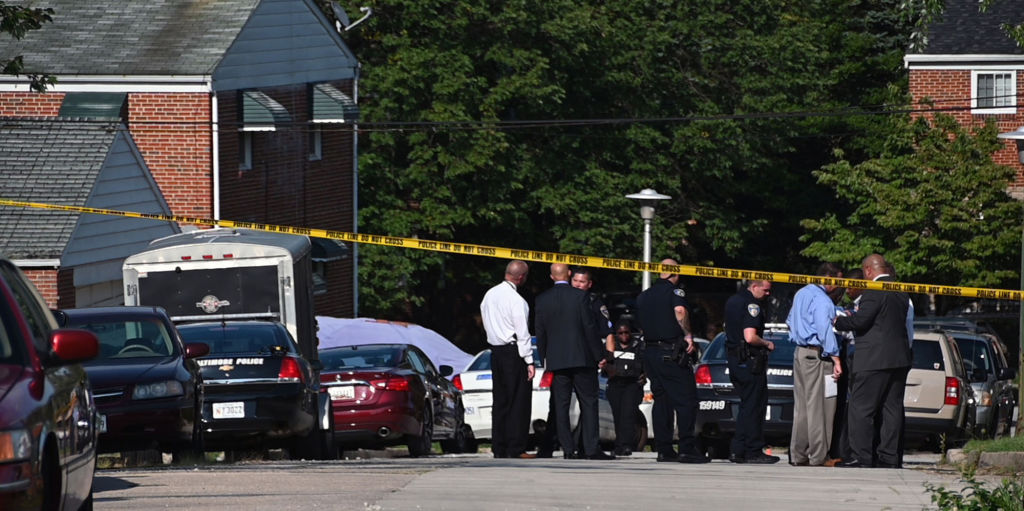 Baltimore Police sergeant shot; witness says 2 men beat officer before opening fire