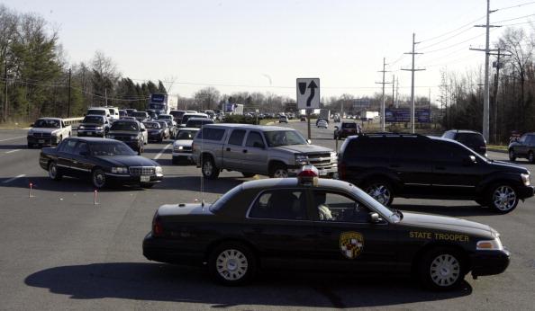 SLUG: ME-Brushfire DATE: 03.15.2006 CREDIT: Kevin Clark/The Washington Post Brandywine, MD NEG. #: S