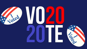 Vote 2020 Graphic