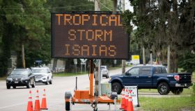 Hurricane Isaias Makes Landfall In South Carolina