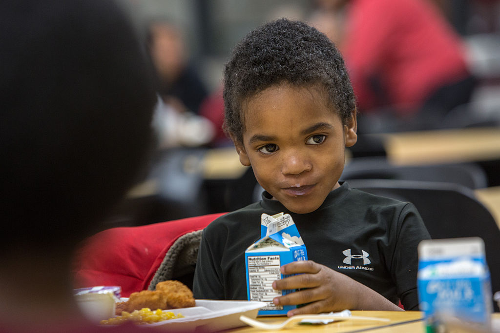 Free lunches at DC schools during snowstorm
