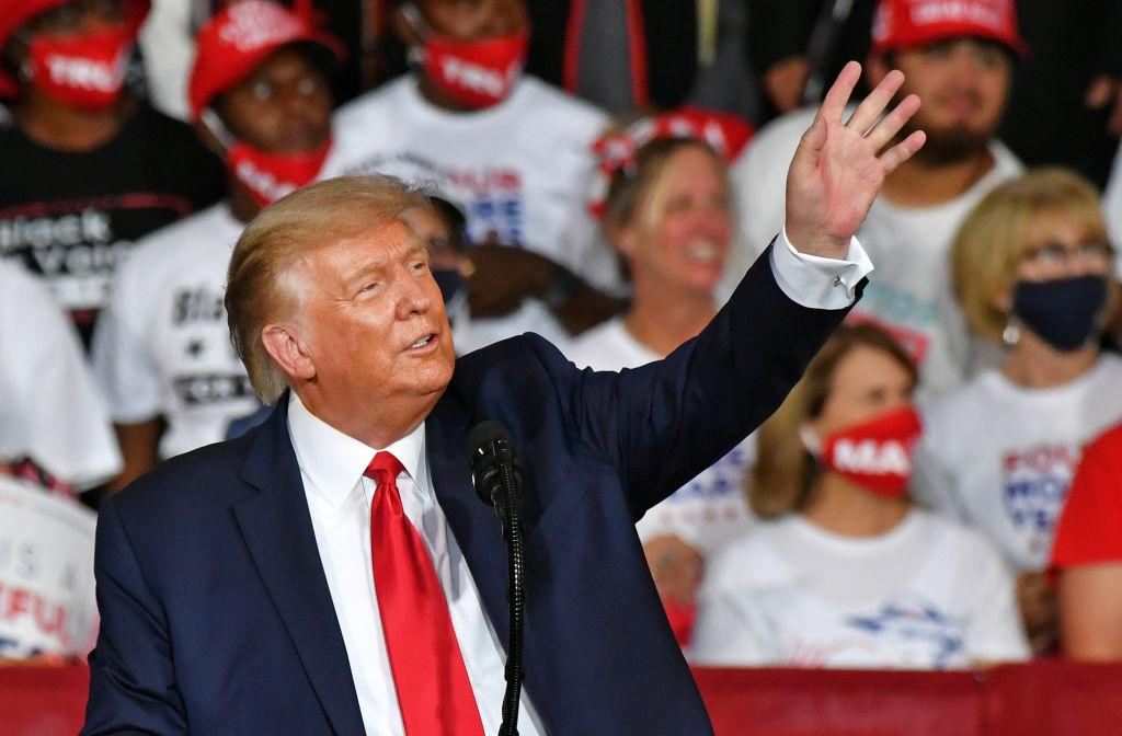 Trump's campaign rally in Winston-Salem