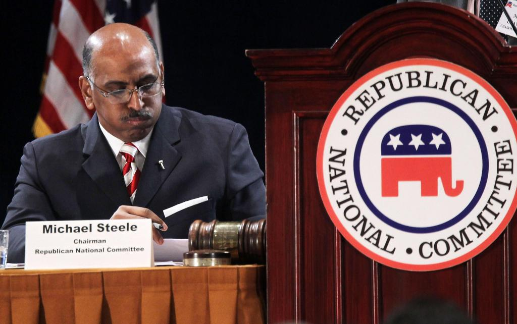 Republican National Committee Holds Election For New Chairman