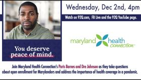 Maryland Health Connection Virtual Health Forum