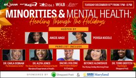 Minorities & Mental Health: Healing Through The Holidays