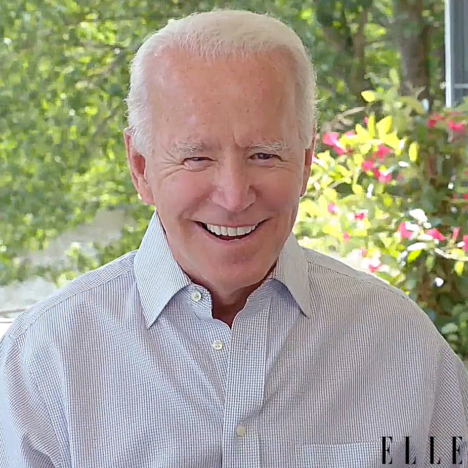 Cardi B Joe Biden ELLE Magazine