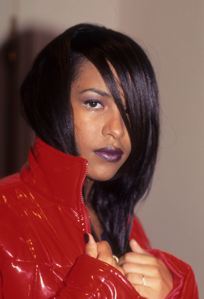 Aaliyah Appears At The Vibe Magazine Fashion Show