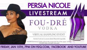 Persia Nicole Fou-Dre Live Stream Event