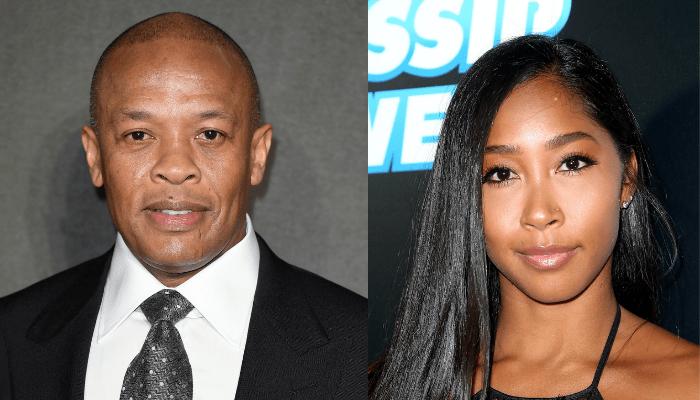 Dr. Dre and Apryl Jones