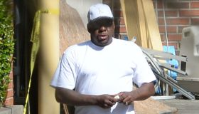Bobby Brown returns back to the Peachtree Christian Hospice in GA