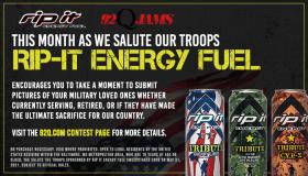 Rip It Energy Virtual Military Tribute Wall