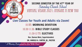 New Shiloh Baptist Church Zoom Saturday Church School Virtual Vision