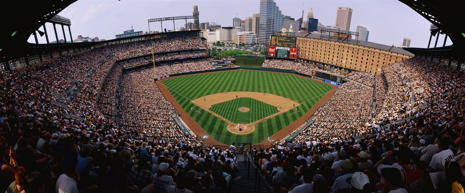Baseball Game at Camden Yards