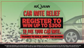 92Q & Jimmy The Boxer Car Note Contest