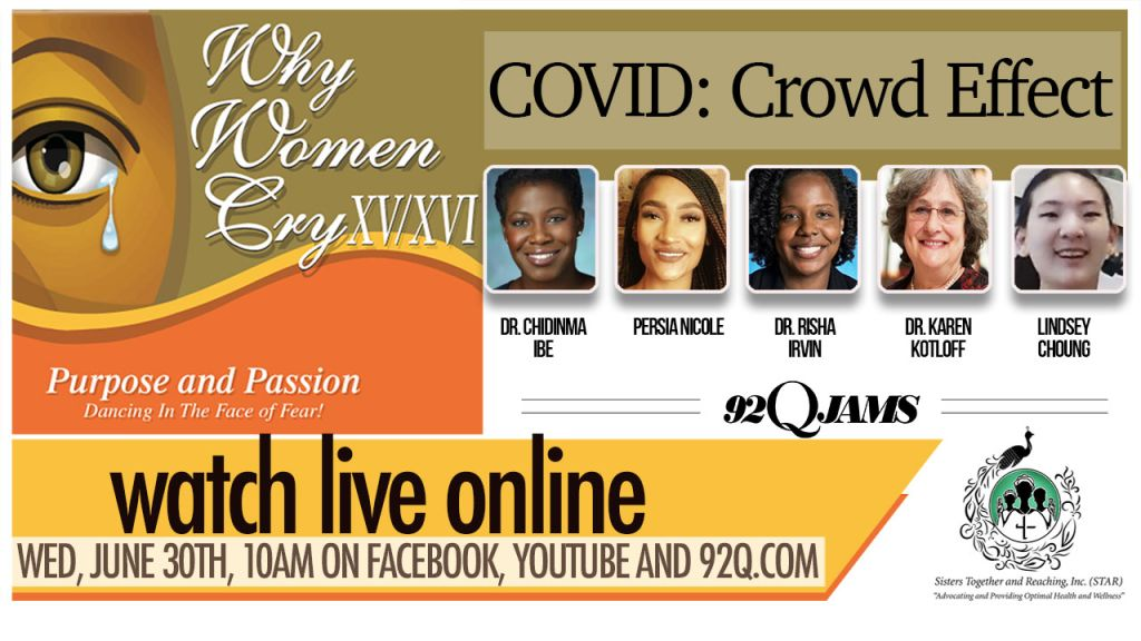 Why Women Cry: Covid Crowd Effect