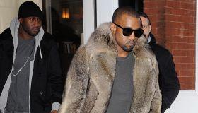 Celebrity Sightings In New York City - January 3, 2011