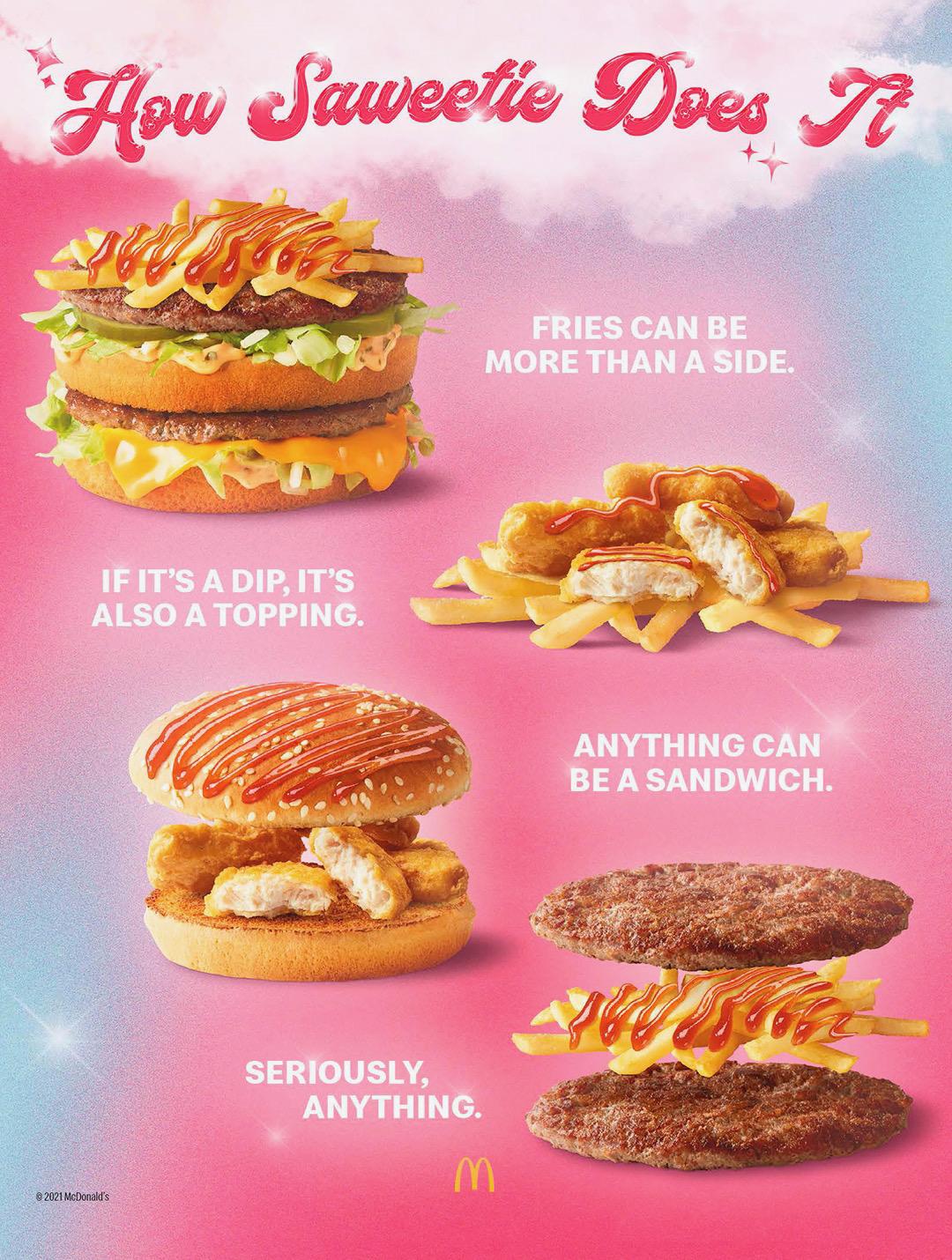 McDonald's Saweetie Meal