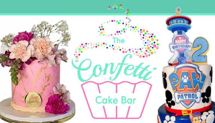 Confetti Cake Bar Grand Opening with DJ AngelBaby